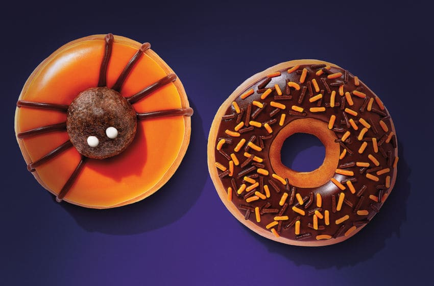 Photo: Dunkin' Hot Chocolate and Assorted Specialty Donuts.. Image Courtesy Dunkin'