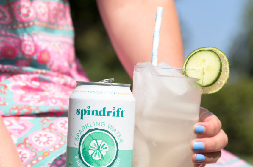 Photo: Spindrift's Cucumber Sparkling Water.. Image Courtesy Spindrift