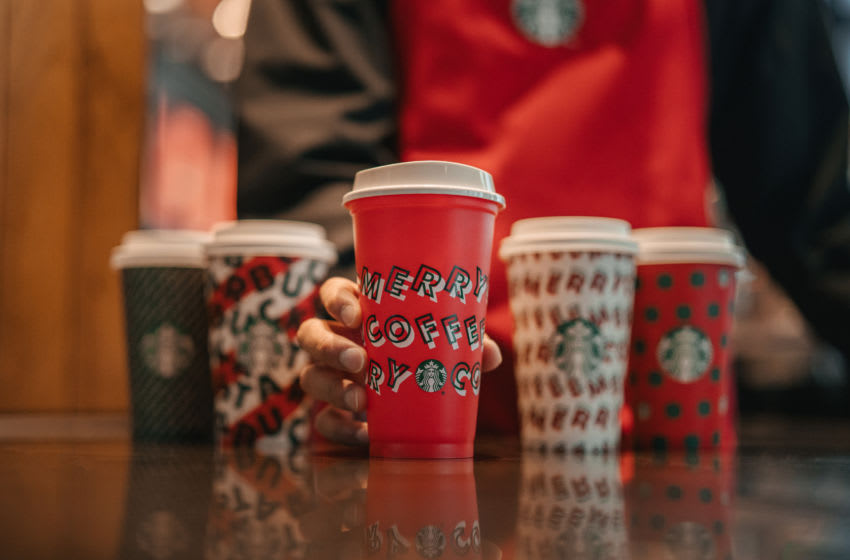 2019 Starbucks Holiday Cup, photo provided by Starbucks