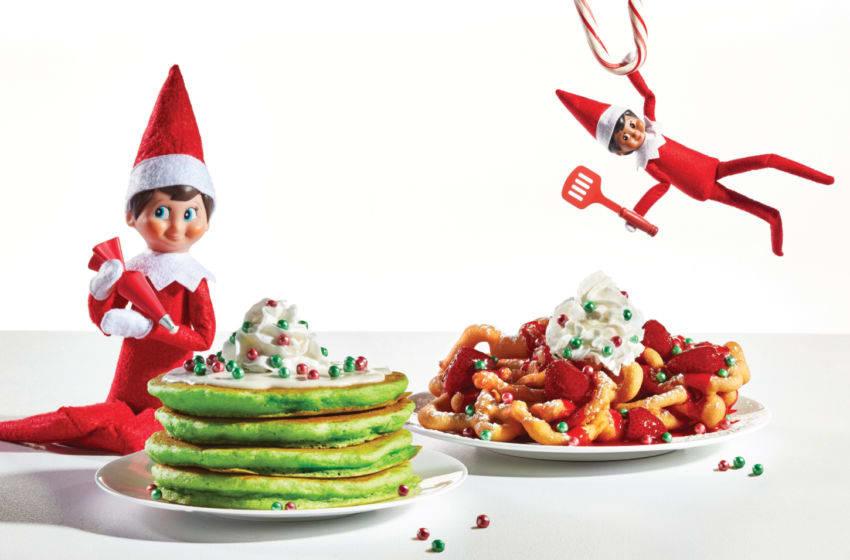 IHOP Intros The Elf on the Shelf Holiday Menu, image courtesy IHOP