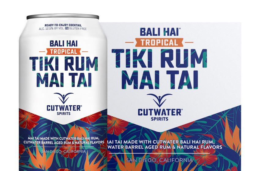 Photo: Bali Hai Tiki Rum Mai Tai.. Image Courtesy Cutwater Spirits