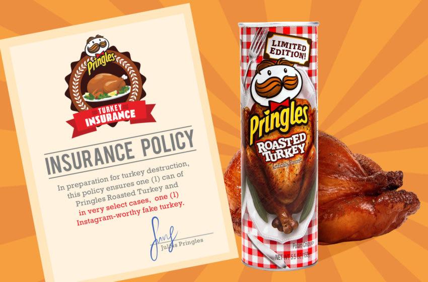 Turkey Insurance Pringles, photo courtesy Pringles