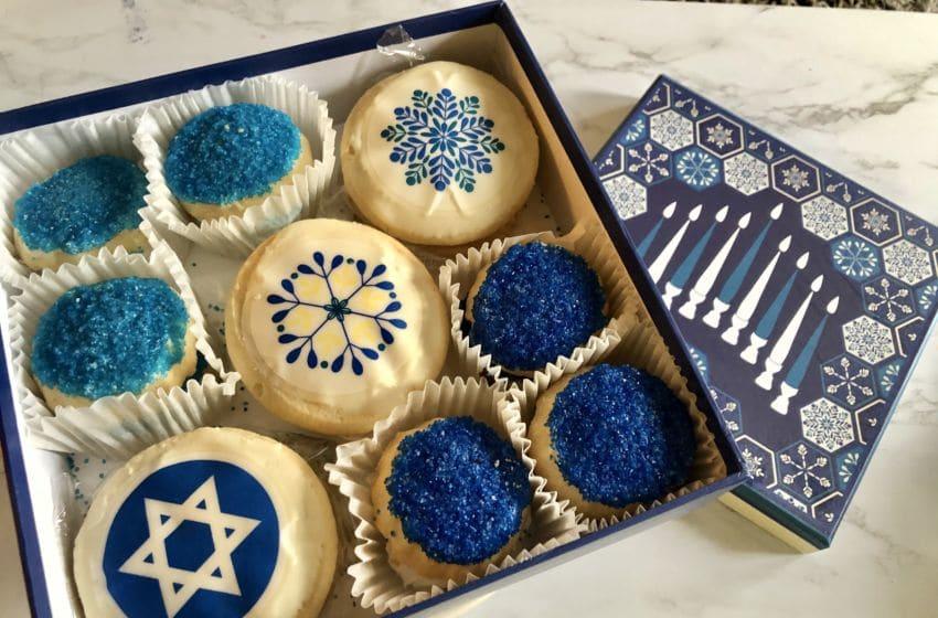 Harry & David Hanukkah Cookie Box, photo by Sandy Casanova