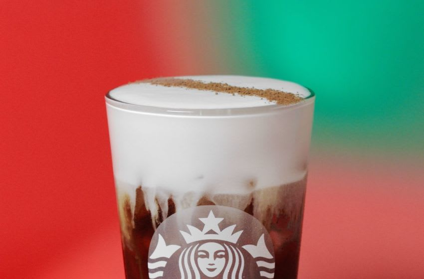 New Starbucks Irish Cream Cold Brew, photo provided by Starbucks