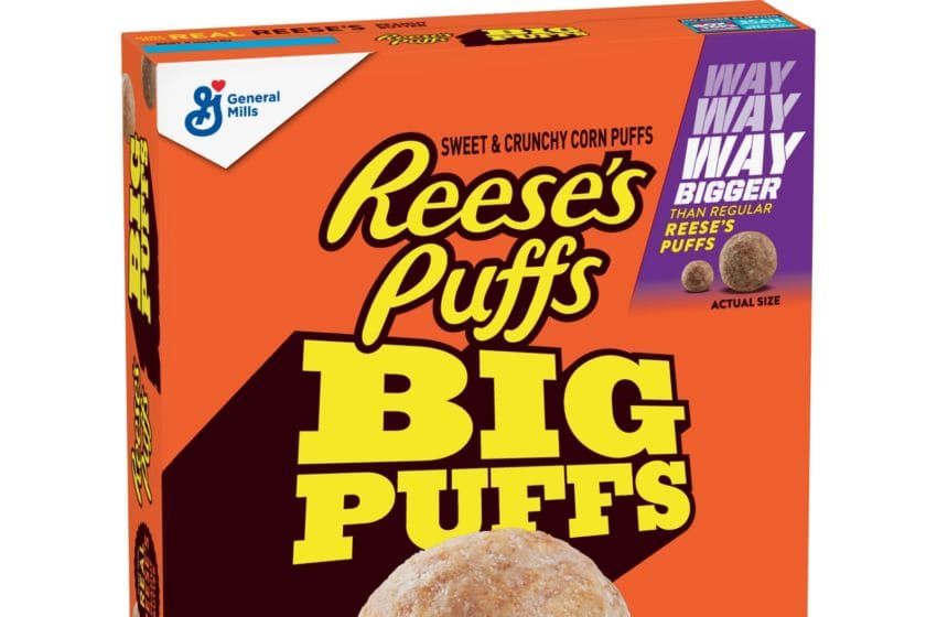 Photo: Reese's Puffs BIG PUFFS cereal.. Image Courtesy Walmart