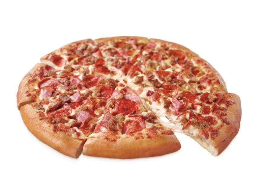 Pizza Hut Meat Lovers pizza, photo provided by Pizza Hut