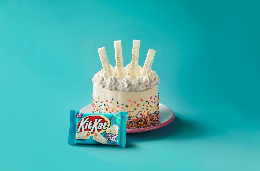 Kit Kat announces Birthday Cake flavor, photo provided by Hersheys