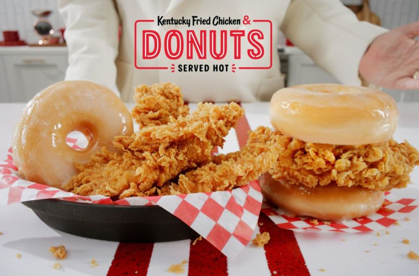KFC Chicken and Donuts, photo provided by KFC