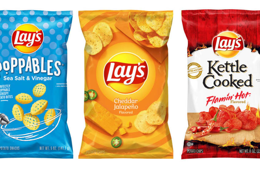"Under embargo until 2/24/20 at 8 am EST Lay's limited-time-only flavors as part of the brand's partnership with NBC's ""The Voice"