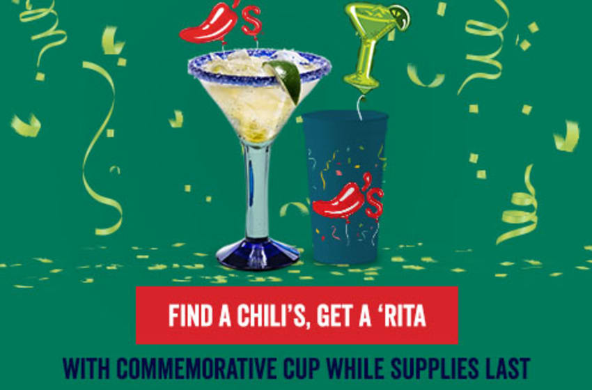 Under embargo until Monday, 5/2 at 3:13 PM CT. Chili's Margarita Birthday tradition is back, photo provided by Chili's