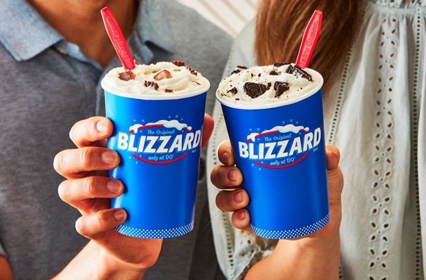Photo: Dairy Queen Reese's and Oreo Blizzard Treats.. Image Courtesy Dairy Queen
