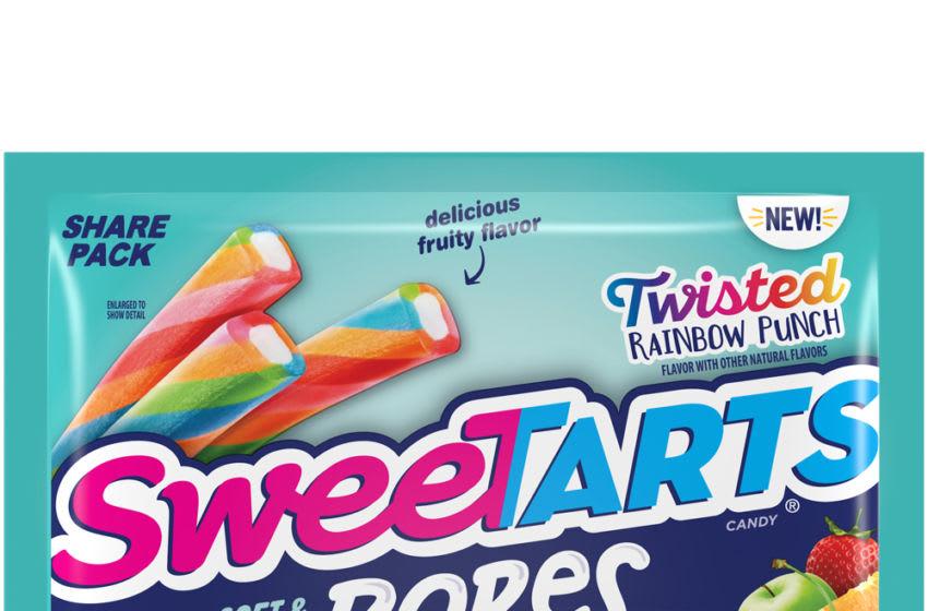 Photo: Twisted Rainbow Punch SweeTARTS Ropes.. Image Courtesy SweeTARTS