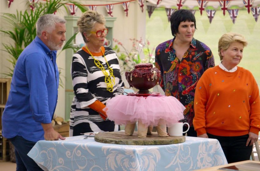 The Great British Baking Show - Collection 6. Image Courtesy Netflix