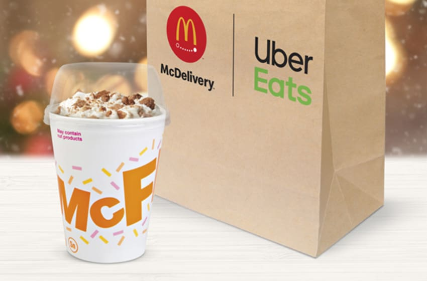 Snickerdoodle McFlurry, photo provided by McDonald's
