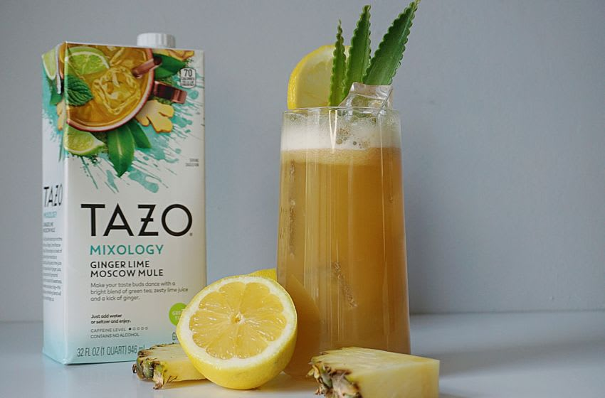 TAZO's Mixology Concentrates: Spice Up Your Life. Image Courtesy TAZo