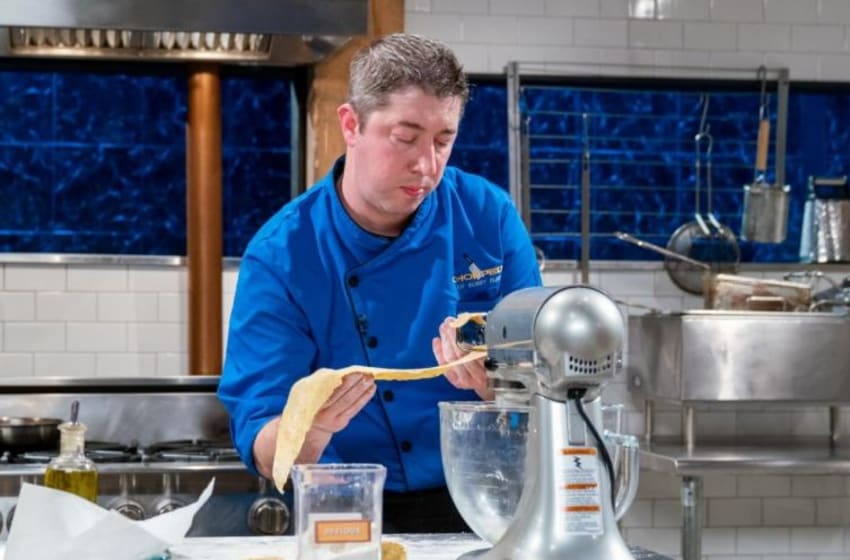 Beat Bobby Flay - Chef Coe Competes. Image courtesy Food Network