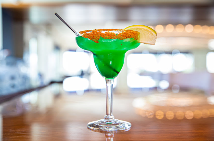 Spicy Leprechaun Drink from the Margaritaville Resort Orlando. Image courtesy of Margaritaville Resort Orlando