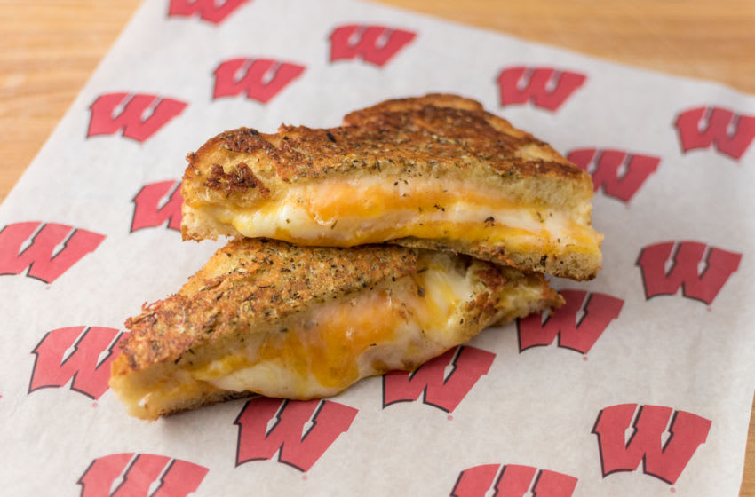 Triple Coverage Grilled Cheese Sandwich University of Wisconsin-Madison, photo provided by Levy