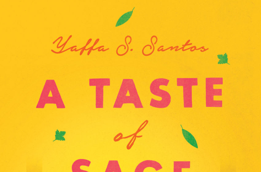 A Taste of Sage by Yaffa S. Santos. Image courtesy HarperCollins Publishers