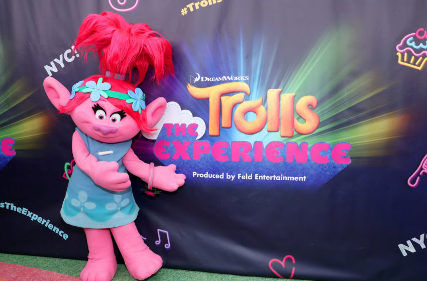 NEW YORK, NY - NOVEMBER 14: Poppy attends DreamWorks Trolls The Experience Rainbow Carpet Grand Opening on November 14, 2018 in New York City. (Photo by Cindy Ord/Getty Images for Feld Entertainment)