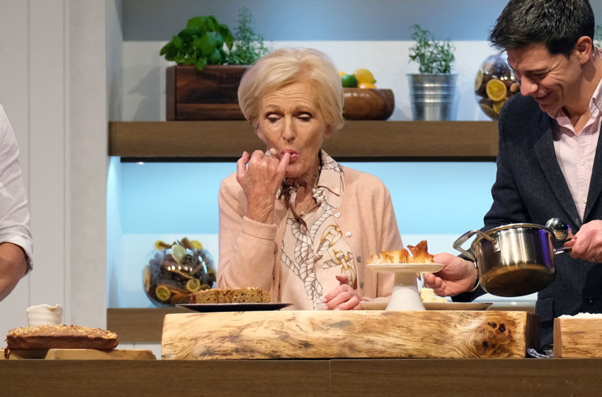 Mary Berry attends the BBC Good Food Show Winter 2019 (Photo by MelMedia/Getty Images)