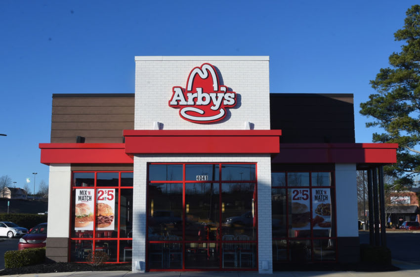 General view of an Arby's restaurant. (Photo by Rick Diamond/Getty Images for Arby's)