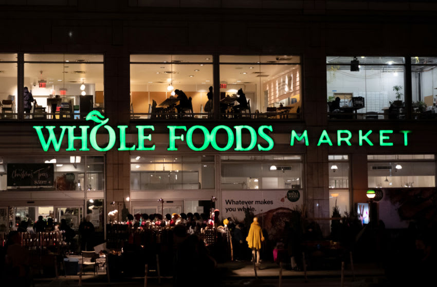 NEW YORK, NEW YORK - DECEMBER 11: People dine indoors at Whole Foods Market in Union Square on December 11, 2020 in New York City. Governor Cuomo announced that indoor dining would close on Monday December 14th due to an ongoing spike in COIVD-19 cases. (Photo by Alexi Rosenfeld/Getty Images)