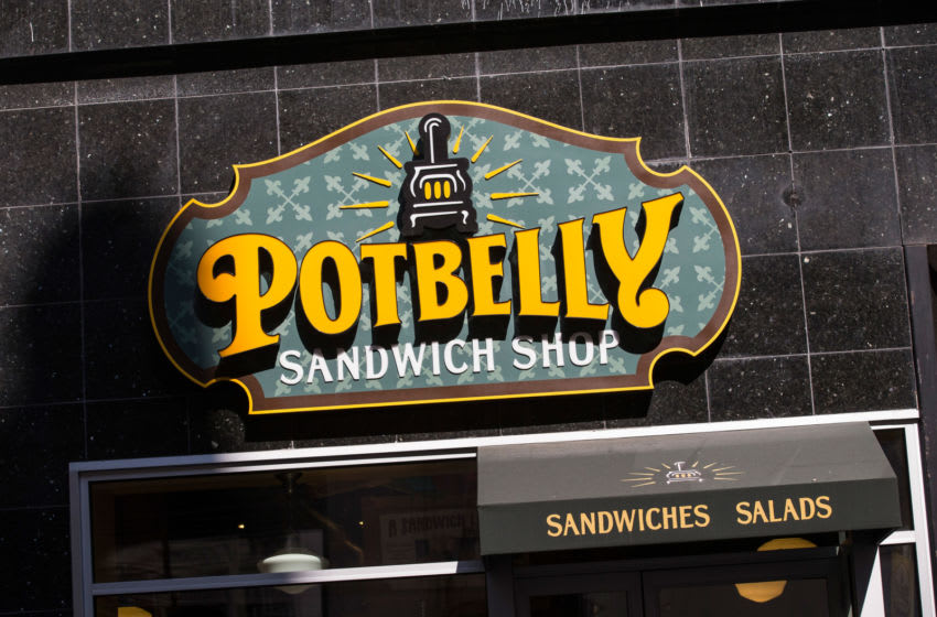NEW YORK, NY - OCTOBER 04: A Potbelly Sandwich Shop is seen on October 4, 2013 in New York City. Potbelly Inc, which had its initial public offering (IPO) today, watched as stocks soared to $105 million, doubling expectations. Potbelly is listed on the NASDAQ exchange as PBPB. (Photo by Andrew Burton/Getty Images)