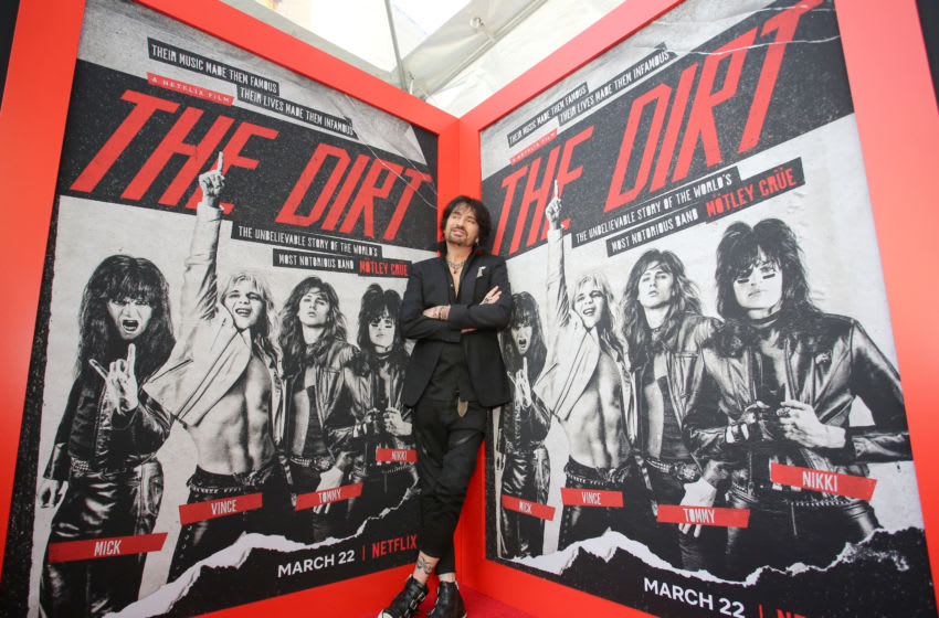 Tommy Lee attends the premiere of Netflix's 'The Dirt