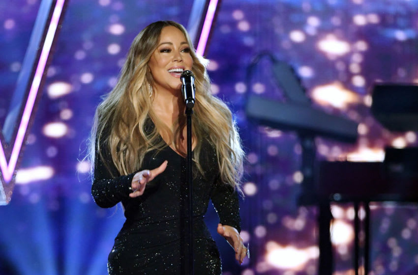 LAS VEGAS, NEVADA - MAY 01: Mariah Carey performs during the 2019 Billboard Music Awards at MGM Grand Garden Arena on May 1, 2019 in Las Vegas, Nevada. (Photo by Ethan Miller/Getty Images)