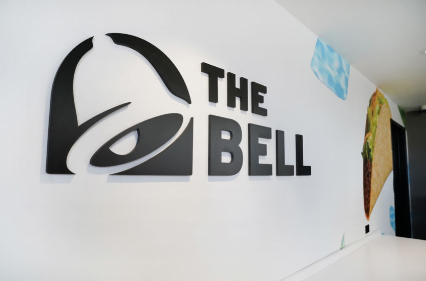 PALM SPRINGS, CALIFORNIA - AUGUST 08: View of atmosphere at The Bell: A Taco Bell Hotel & Resort on August 08, 2019 in Palm Springs, California. (Photo by Erik Voake/Getty Images for Taco Bell)