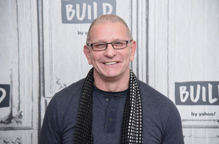 """NEW YORK, NEW YORK - JANUARY 13: Chef and TV personality Robert Irvine visits the Build Series to discuss The Food Network series """"Restaurant: Impossible"""" at Build Studio on January 13, 2020 in New York City. (Photo by Gary Gershoff/Getty Images)"""