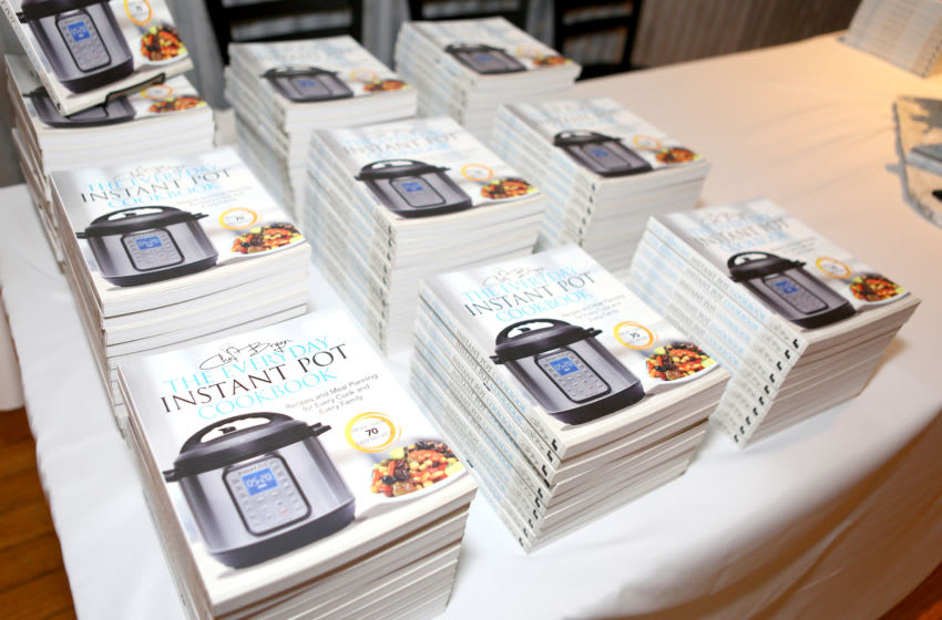 PARK CITY, UTAH - JANUARY 25: Chef Bryan Woolley cookbooks on display at the ECOLUXE Park City/ABC4 News Lounge at Tekila Mexican Grill & Cantina on January 25, 2020 in Park City, Utah. (Photo by Tasia Wells/Getty Images for ECOLUXE)