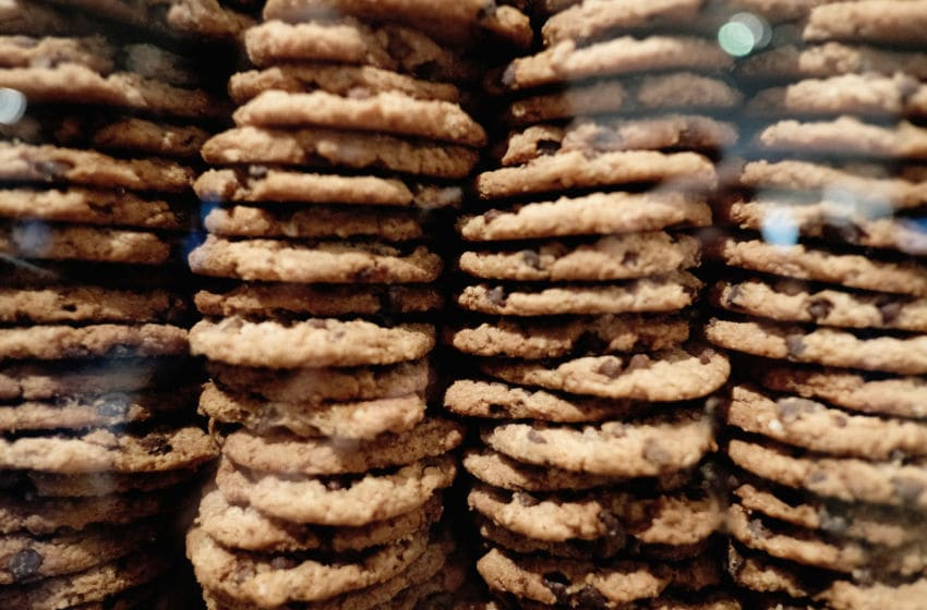 NEW YORK, NY - JANUARY 18: On Wednesday, Jan. 18, Chips Ahoy! THINS cookies unveiled a larger-than-life cookie jar, with a super thin twist at the Time Warner Center in New York City for one day only. The jar showcases two new flavor additions - Double Chocolate and Oatmeal - and gives fans the opportunity to guess how many cookies are in the jar for a chance to win a years supply of Chips Ahoy! THINS. (Photo by Jason Kempin/Getty Images for Chips Ahoy!)
