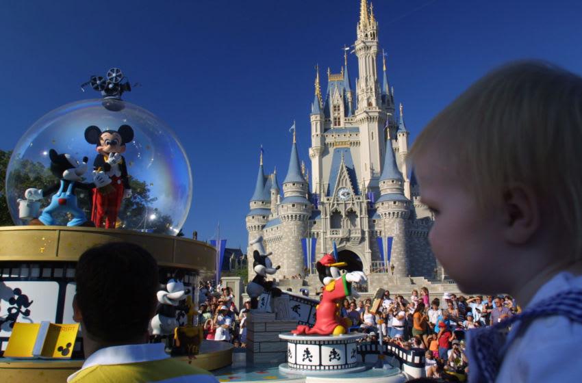 Disney World's Magic Kingdom November 11, 2001 in Orlando, Florida. (Photo by Joe Raedle/Getty Images)