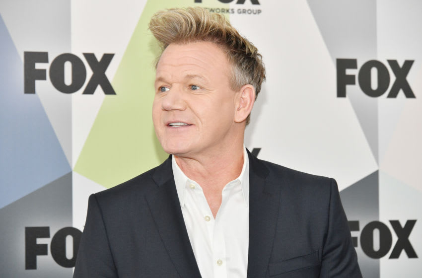 NEW YORK, NY - MAY 14: Chef Gordon Ramsay attends the 2018 Fox Network Upfront at Wollman Rink, Central Park on May 14, 2018 in New York City. (Photo by Dia Dipasupil/Getty Images)
