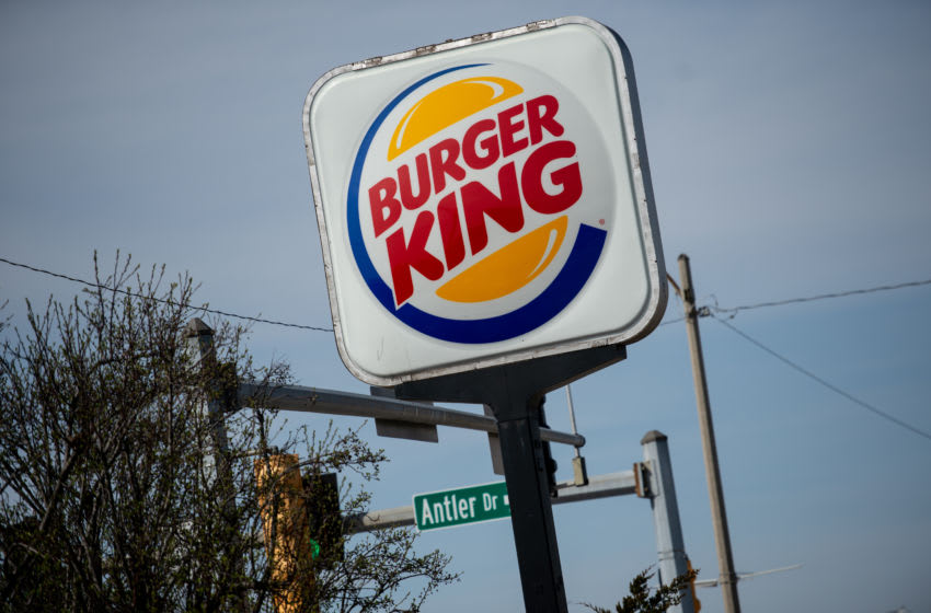 RICHMOND HEIGHTS, MO - APRIL 01: An exterior view of a Burger King restaurant on April 1, 2019 in Richmond Heights, Missouri. Burger King announced on Monday that it is testing out Impossible Whoppers, made with plant-based patties from Impossible Foods, in 59 locations in and around St. Louis area. (Photo by Michael Thomas/Getty Images)