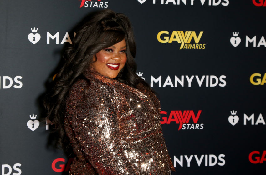 LAS VEGAS, NEVADA - JANUARY 20: Actress and host Nicole Byer attends the 2020 GayVN Awards show at The Joint inside the Hard Rock Hotel & Casino on January 20, 2020 in Las Vegas, Nevada. (Photo by Gabe Ginsberg/Getty Images)