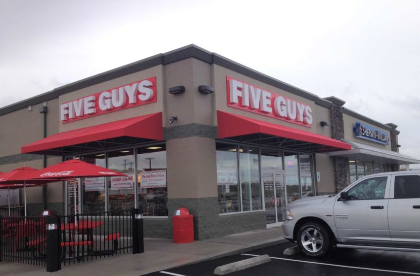 This is the Five Guys Burgers and Fries location at 1854 N. Memorial Drive as show in this Eagle-Gazette file photo. Five Guys 2