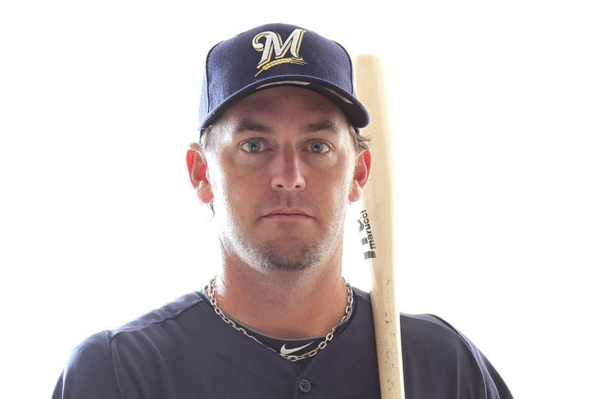 MARYVALE, AZ - FEBRUARY 24: Jeremy Reed #66 of the Milwaukee Brewers poses for a portrait during Spring Training Media Day on February 24, 2011 at Maryvale Stadium in Maryvale, Arizona. (Photo by Jonathan Ferrey/Getty Images)