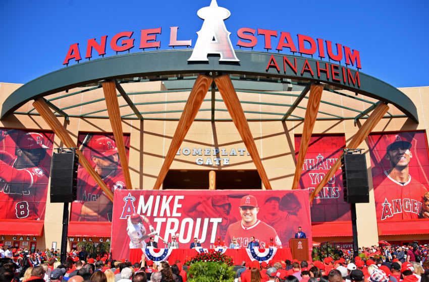 Angel Stadium, Los Angeles Angels, (Photo by Jayne Kamin-Oncea/Getty Images)