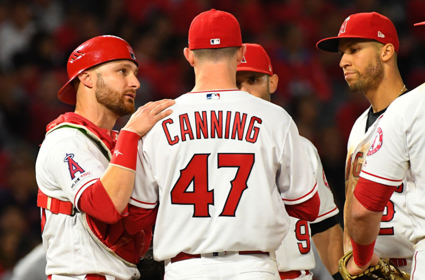 Griffin Canning, Los Angeles Angels, (Photo by Jayne Kamin-Oncea/Getty Images)