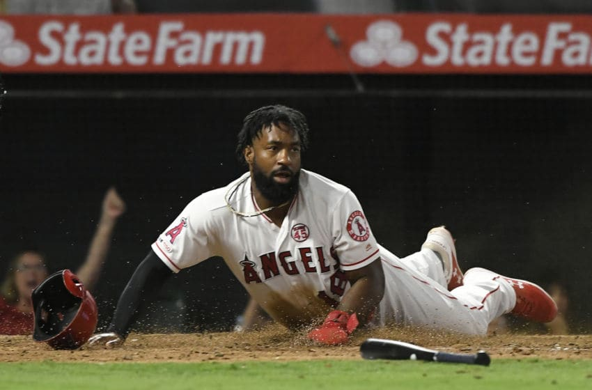 Brian Goodwin, Los Angeles Angels (Photo by John McCoy/Getty Images)
