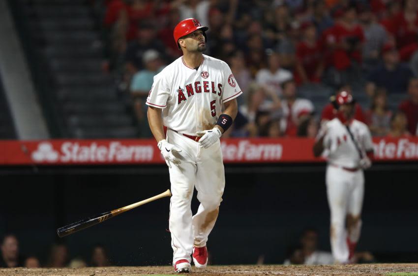 Albert Pujols, Los Angeles Angels (Photo by Sean M. Haffey/Getty Images)