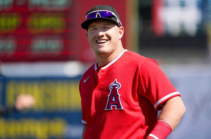 Mike Trout, Los Angeles Angels (Photo by Masterpress/Getty Images)