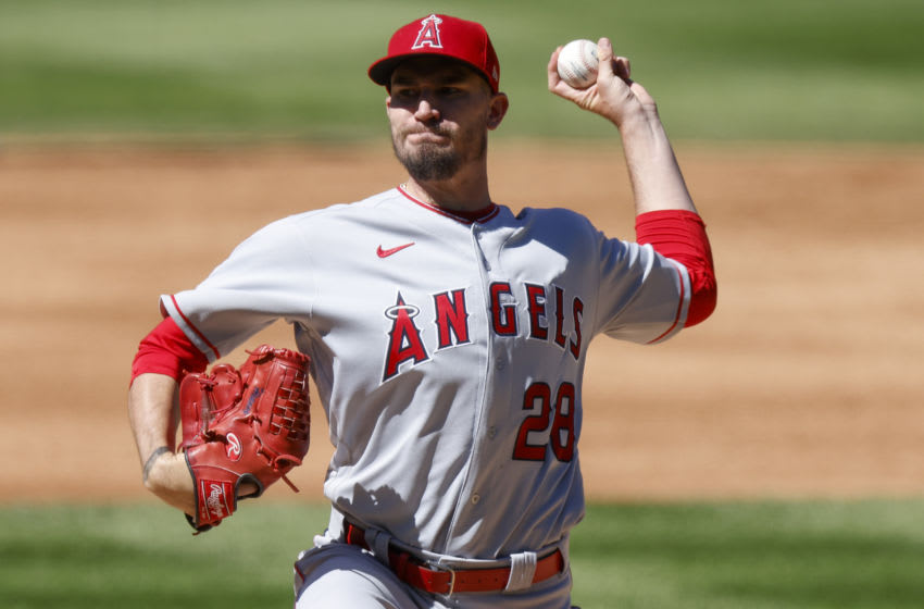Andrew Heaney, Los Angeles Angels (Photo by Justin Edmonds/Getty Images)