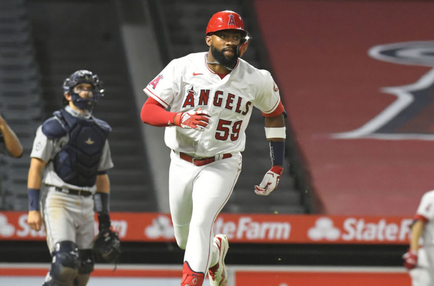 Jo Adell, Los Angeles Angels (Photo by John McCoy/Getty Images)