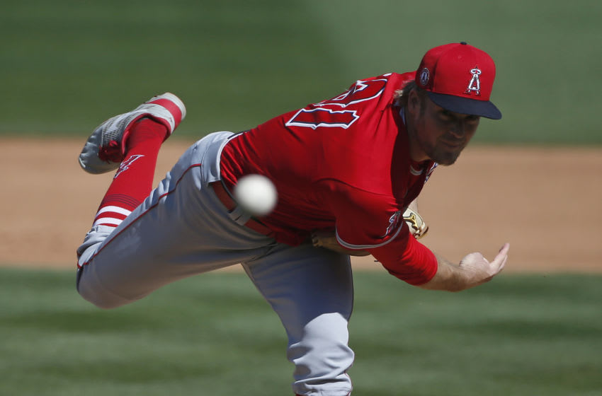 Ty Buttrey, Los Angeles Angels (Photo by Ralph Freso/Getty Images)
