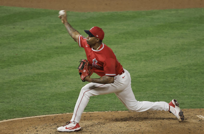 Raisel Iglesias, Los Angeles Angels (Photo by Michael Owens/Getty Images)