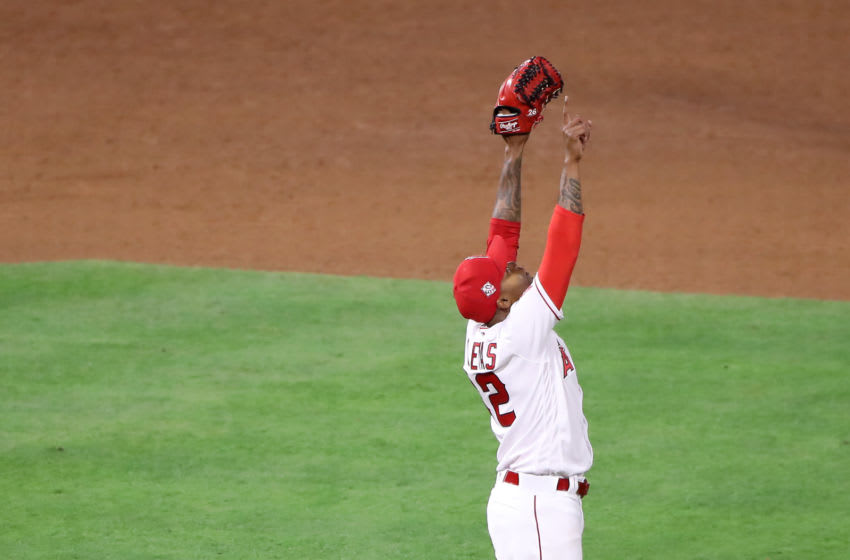 Raisel Iglesias, Los Angeles Angels (Photo by Katelyn Mulcahy/Getty Images)